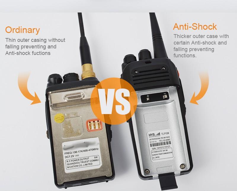 מאוד סיטונאי 400-480 MHz מכשיר קשר משטרתי 500 מטרים-מכשיר קשר-מספר MN-53