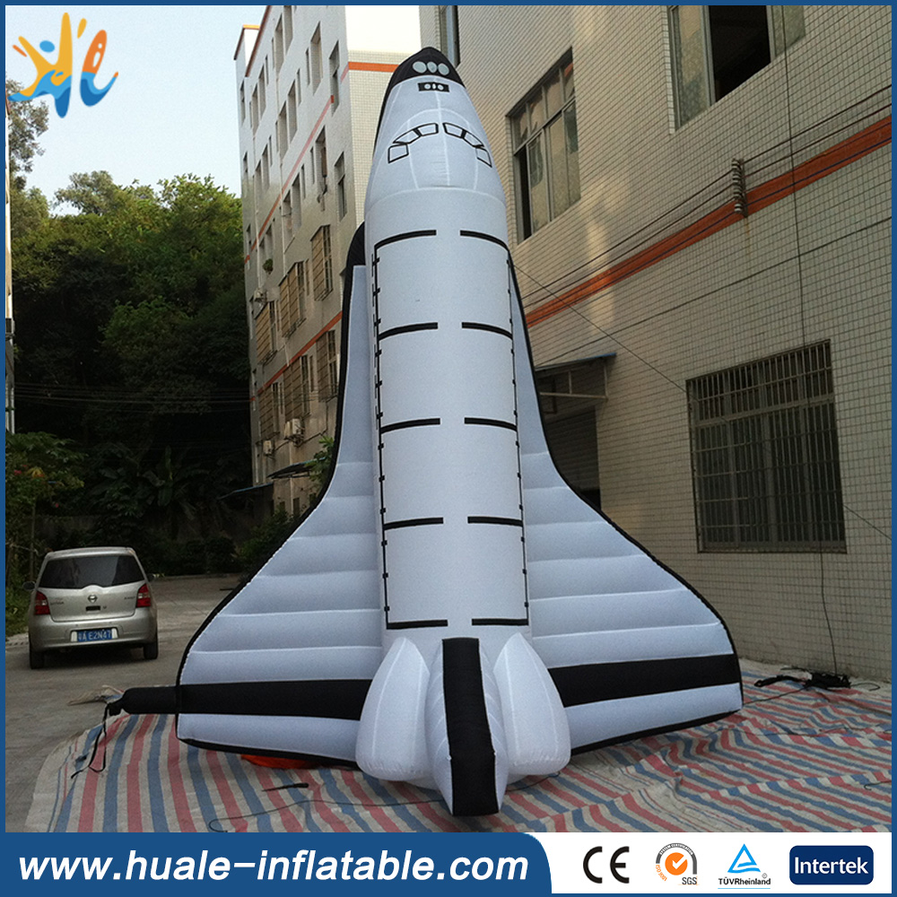 Outdoor Advertisement inflatble model , inflatable rocket for adversiting
