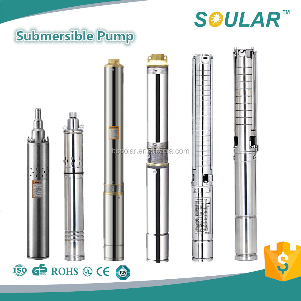 Made in China Deep Well Submersible Pump ( 5 Years Warranty )