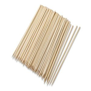 natural round Dan bamboo skewers for meat FDA Certificated High Quality