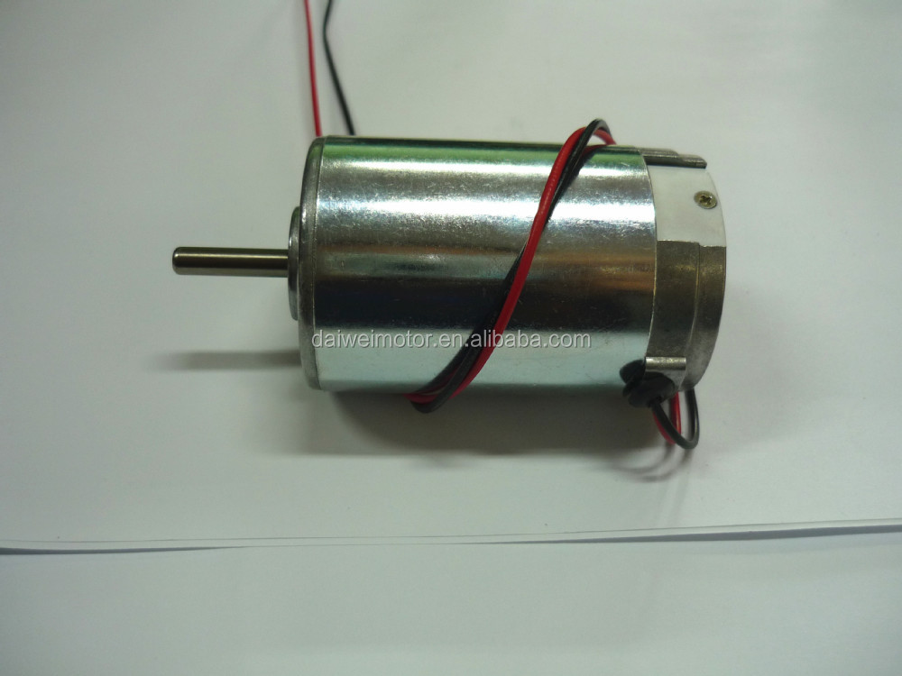 12V 6000rpm High Torque Permanent DC Motor RK-4468-1260
