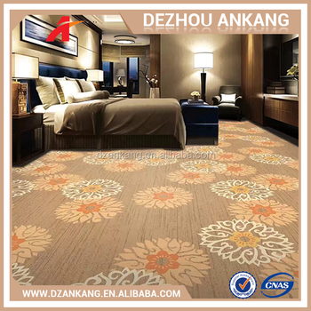 Best Quality And Comfortable Cinema Printed Carpet Colorful Striped Felt Wall To Designs