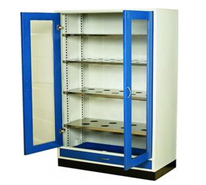 Chemical Storage CabinetGlass Door CabinetLab Storage Cupboard - Lab storage cabinets