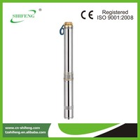 4 inch submersible pumps spare parts deep borehole water pump