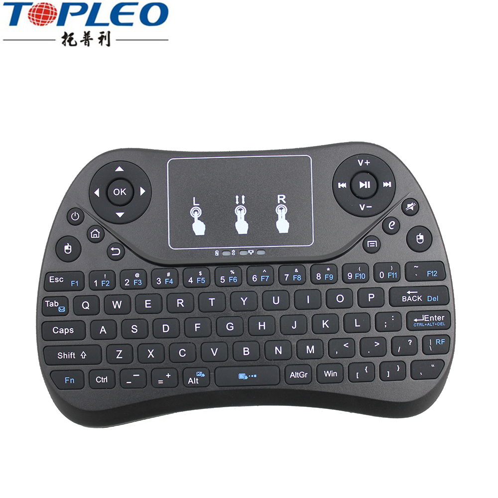 2.4 GHz connessione wireless mini keyboard T2 per la vendita