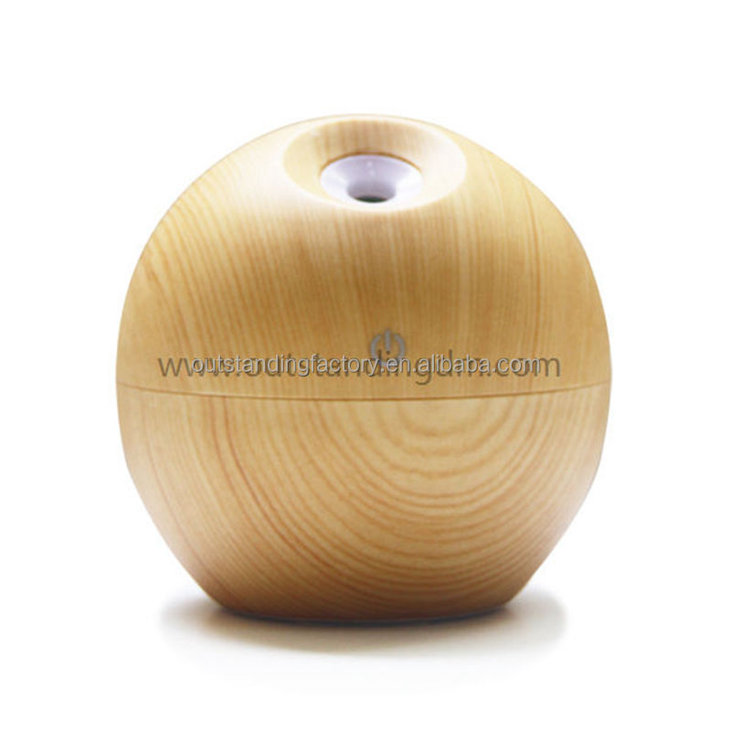 Wholesale Electric Wood Essential Oil Aroma Diffuser