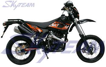 Skyteam 125cc 4 Stroke Sm Supermoto Sepeda Motor ( Mee Euroiii Euro3  Persetujuan,17