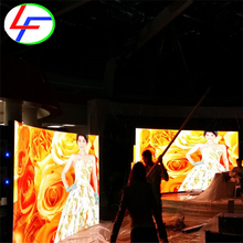 p3 p4 p5 p6 p8 p10 front service display/front access sign video six japan p7.62 blue color indoor led display