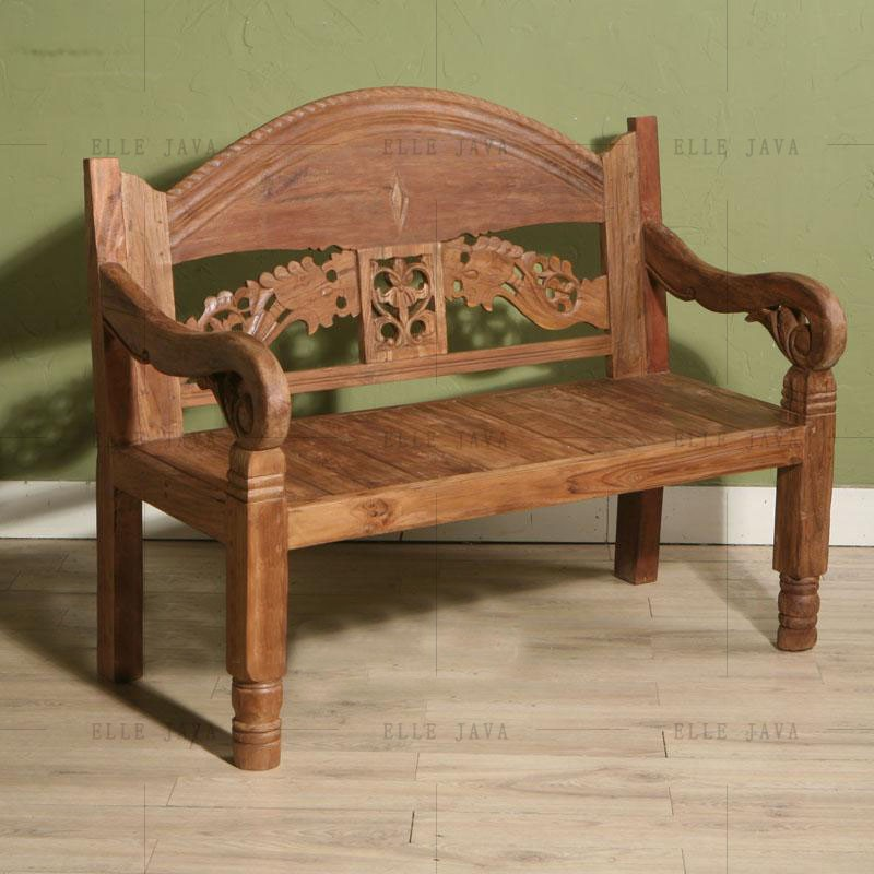 Old Teak Wood Two Seats Chair Indoor And Outdoor Bench Furniture - Buy  Antique Teak Wood Chairs,Indonesia Wooden Furniture,Reclaimed Teak Wood ...