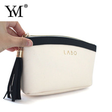 wholesale high quality elegant beauty ladies pu leather make up cosmetic zipper pouch bag