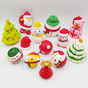 Christmas Gift Jumbo Slow rising PU Cute Christmas squishies toy