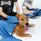 Foldable Dog Paws Cleaning Towel Blue Big Pet Bath Towel