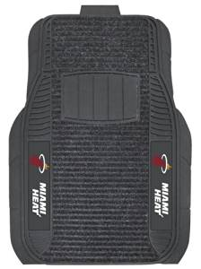 Miami Heat Car Mats - Deluxe Set