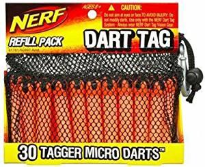 (30 bottles dart tag series for replenishment bullet) Na Fu dart tag darts refill pack (japan import)