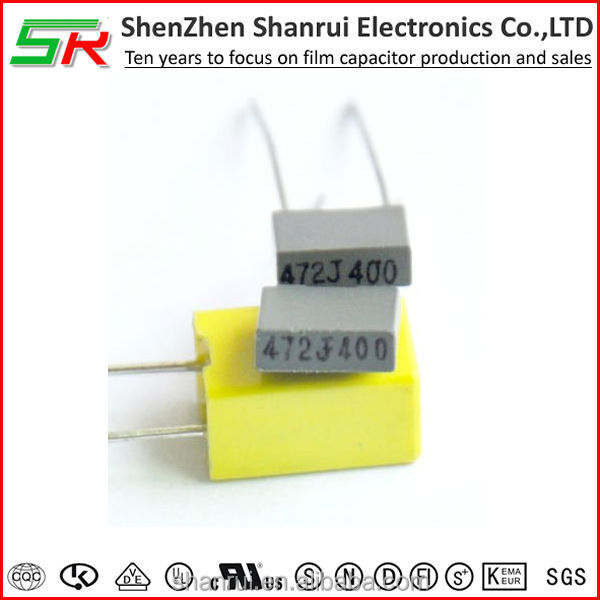 CL233X Micro Metalized Polyester Capacitor for 50/ 63/ 100/ 250/ 400/ 630VDC