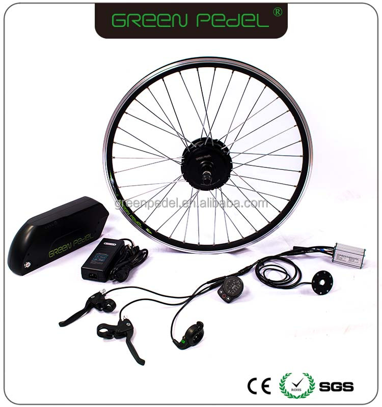 "Cheapest Green Pedel direct factory china 20"" 36V 350W electric bike/bicycle conversion kits"