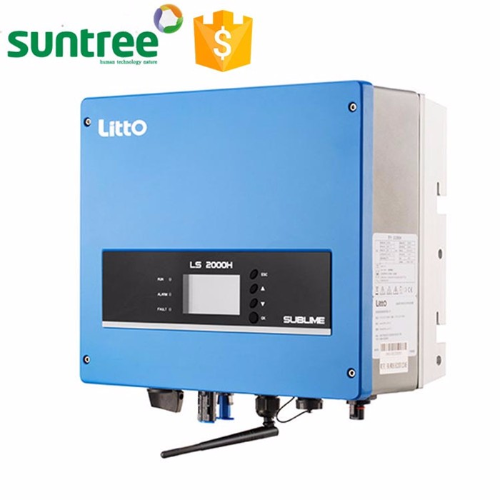 SUNTREE 13A Per phase 50Hz 60Hz 650Vdc plug and play terminal 8000w dc ac inverter