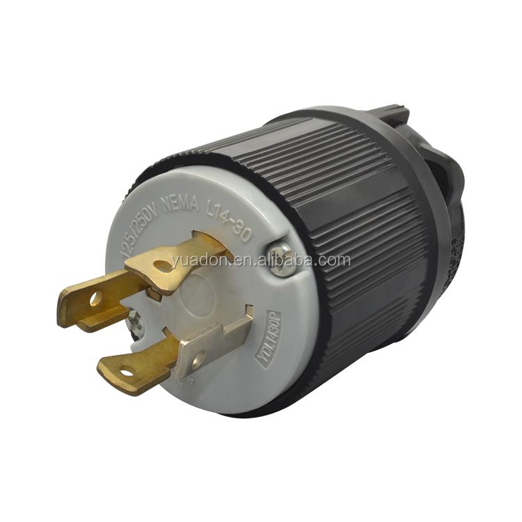 Yuadon 125  250v 30a Twist Lock Nema L14