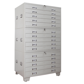 Metal Filing Cabinet With Legs Many Drawers Steel Map Cabinet