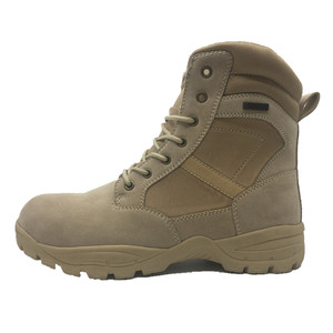 China army military boot manufacturer supply high ankle desert combat arm military boot