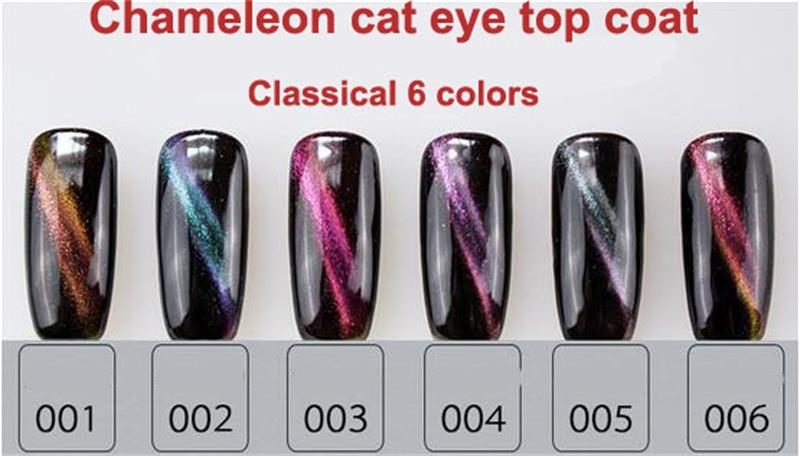 Professional Magnetic Gel 3d Cat Eyes Top Coat Soak Off Uv Cat Eye ...