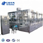 Automatic Carbonated Automatic Carbonated Beverage Filling Machine And Beer Bottle Filling Machine 72-72-18with Labeling Machine