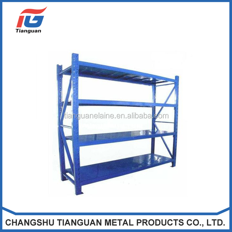 Customized industrial strength stainless shelving