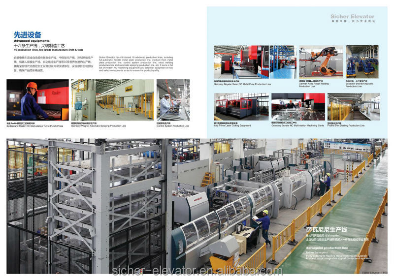 Sicher Elevator----one Of The Top Elevator Brands In China