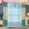 100% Polyester European Style Living Room Embroidery Blackout Curtain