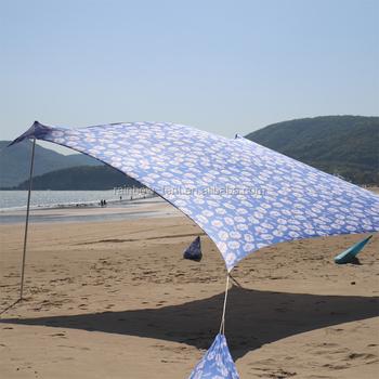 Easy Set Up Lycra Sun Shade Beach Canopy