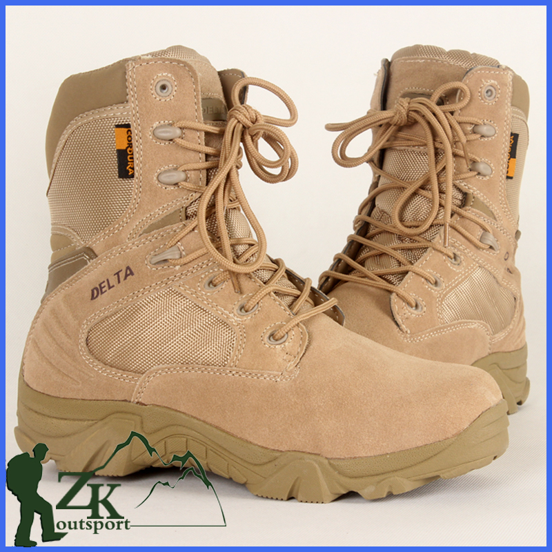 b739dbb82b8 New Design Men s Leather Combat Desert Military Boots Half Ankle Army Boots  Tactical Boots CD620