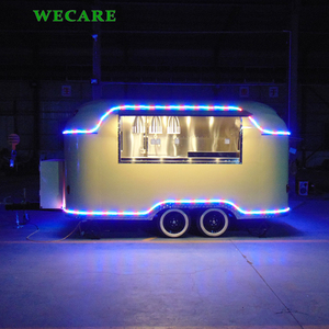 Popular WECARE ice cream truck coffee cart