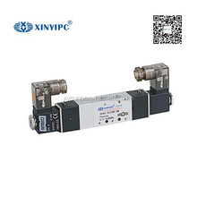 China product air double control double coil air solenoid valve 24v