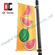 Hanging pvc advertising street banner pole bracket