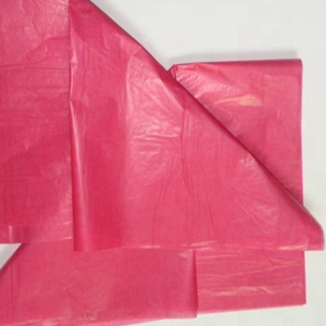 24g Colored Wax Tissue Paper for Shoes Wrapping from China Supplier