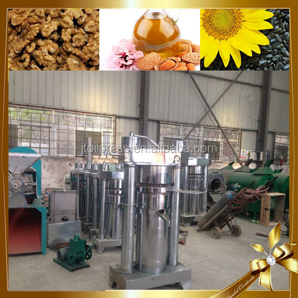 Laos simple operation high pressure hydraulic pump station sesame olive oil extraction machine