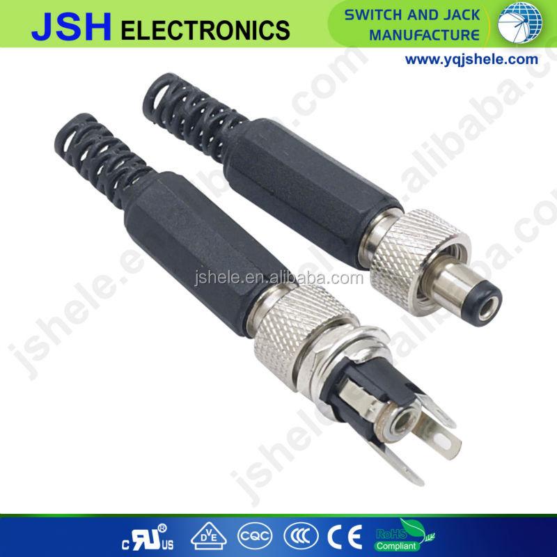 2.1 mm pour circuit imprimé Prise connecteur Jack 5.5