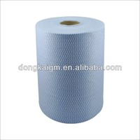 Spunlace non woven fabric roll,Cross Lapping Spunlace