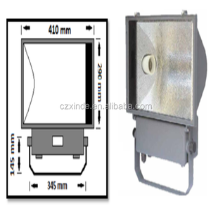 250w 400w metal halide hps lamp solar floodlight for Shinder manufacture