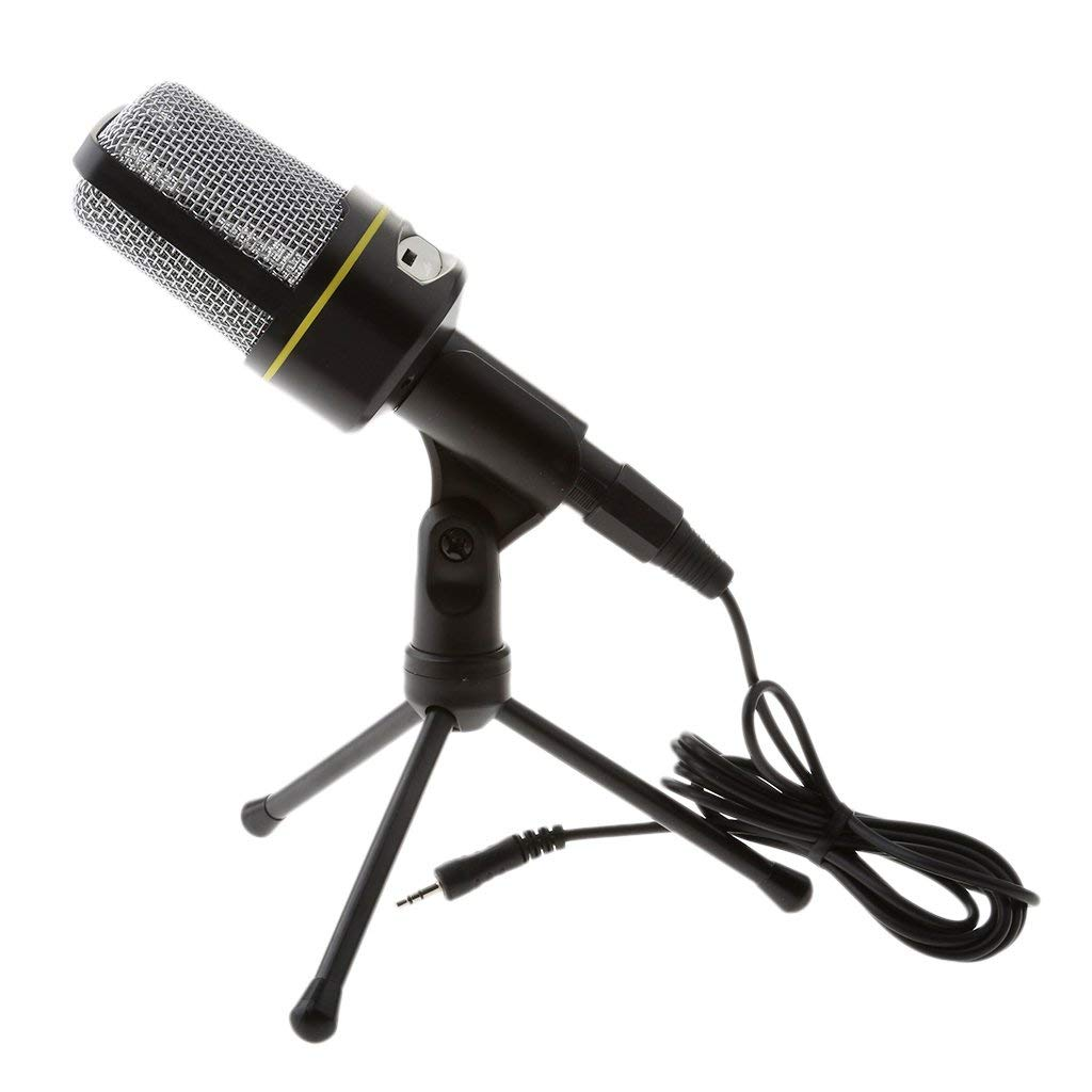 Dovewill Professional Condenser Microphone, Plug &Play Home Studio microphone for Studio Recording,PC,Computer,Podcasting,Mini Desktop MIC Stand with Tripod