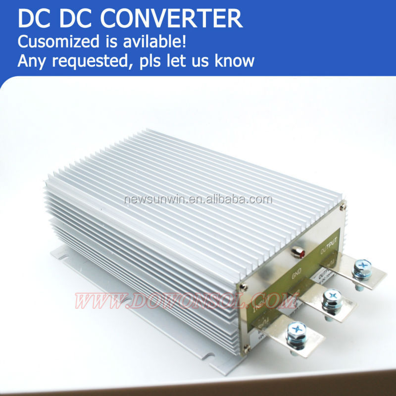 1000w Powerful Dc To Dc Step Up Converter 12v To 48v Dc