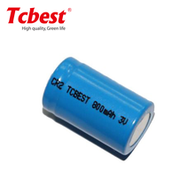 3V lithium photo flashlight CR2 800mAh camera non-rechargeable battery