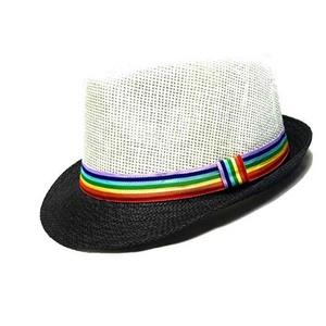 eeb1ef5b05ed66 Rainbow Fedora Hat, Rainbow Fedora Hat Suppliers and Manufacturers at  Alibaba.com