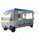 Coffee tuk tuk electric food truck mobile food vending van for sale
