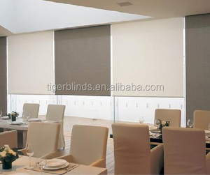 Motorised Blockout Roller Blinds