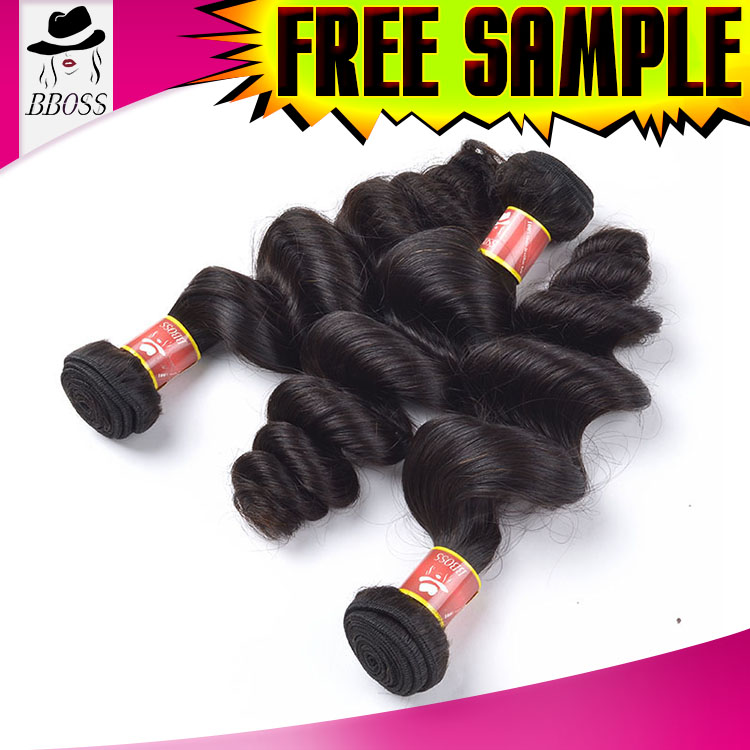 Factory price pink lust 20 shf human hair extensions clip in set