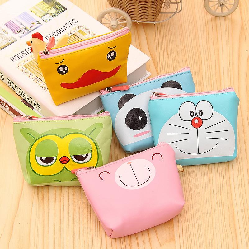Wholesale cute cartoon children purse kids' wallet pu coin ...