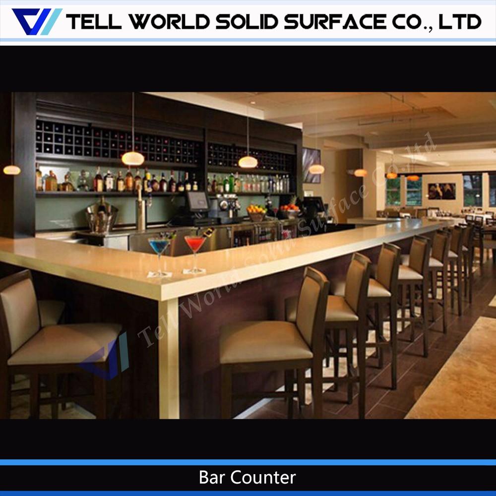 2017 best selling restaurant buffet counter design/restaurant bar