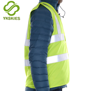 Best fabric for reflecting vest horse riding safety vest police reflective vest