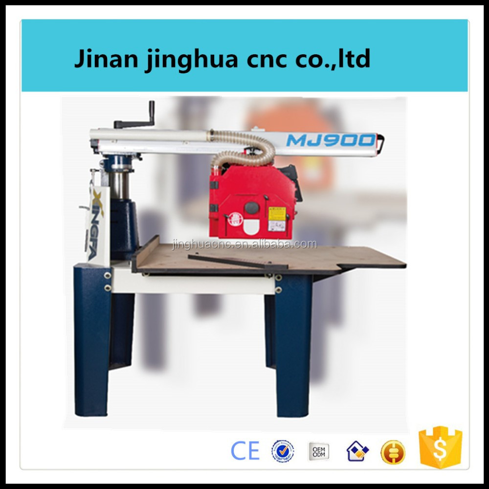Radial arm circular saw woodworking machine in woodworking machinery widely used in Southeast Asia